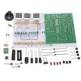 #4: Non-Brand DIY PCB Circuit Board Digital LED Electronic Clock Alarm Kits Set 6 Digit