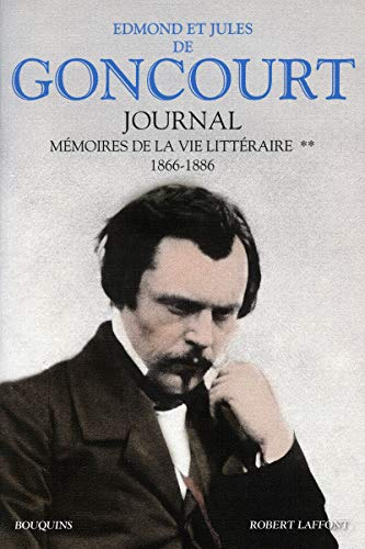Journal : Memoire de la vie litteraire tome 2, 1866-1886