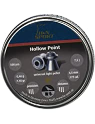 H&N Sports HOLLOW POINT - Balines H&N HOLLOW POINT unisex, talla 5.5 mm