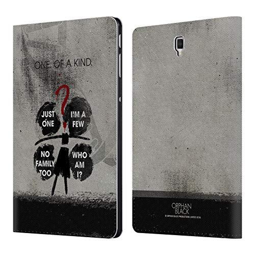 Head Case Designs Ufficiale Orphan Black Indovinello Cloni Posters Cover a Portafoglio in Pelle per Samsung Galaxy Tab S4 10.5 (2018)