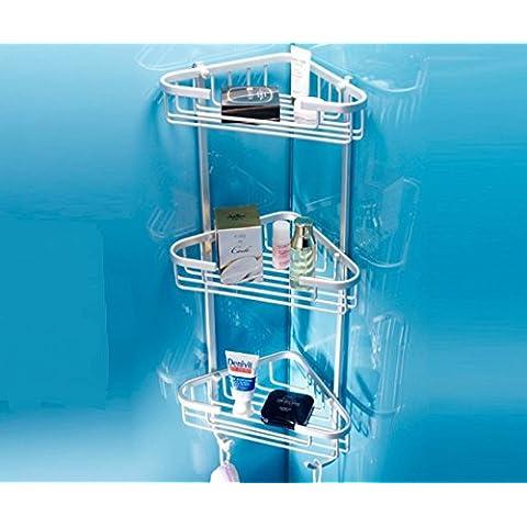 bagno/Salviette/ contenitore a parete/Three-tier bagno rack/Triangolo/Angolo/Rack-A
