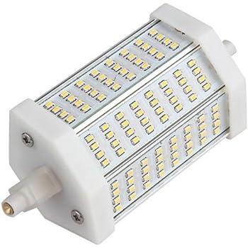 R7s Ampoule Spot 3014 SMD 96 LEDs Blanc Chaud 3000K 118mm