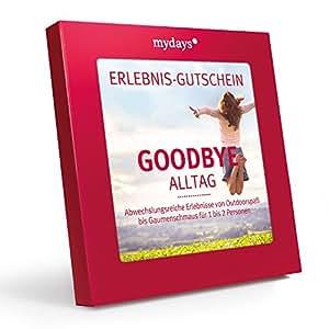 mydays Magic Box: Goodbye Alltag – Erlebnisgutschein – das perfekte Geschenk für ein außergewöhnliches Erlebnis