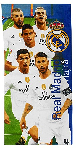 Oficial REAL MADRID toalla de playa 70 cm * 140 cm