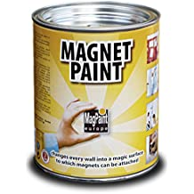MagPaint - Pintura magnética (1 L), color gris