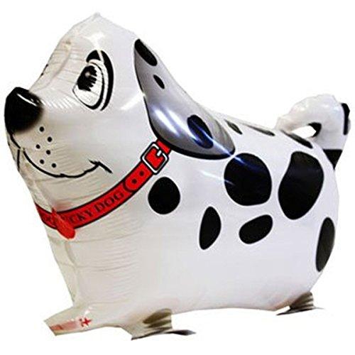 Tutoy Walking Pet Ballon Kinder Kinder Geschenke Party Tier Folie Ballons (Dalmatiner Up Make Halloween)
