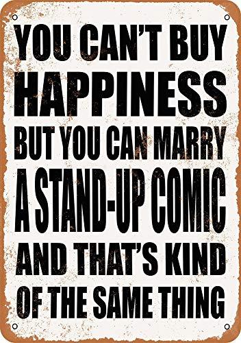 Yohoba Metallschilder Marry A Stand-Up Comic Vintage Look 30,5 x 45,7 cm (Standup-comic)