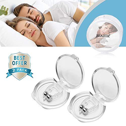 Schnarchstopper, Wirksame Atmungshilfen, die die Schlafqualität verbessern und eine ruhige Nacht bringen.Nahrungsmittelgrad-Silikonmaterial eingewickeltes schwaches magnetisches