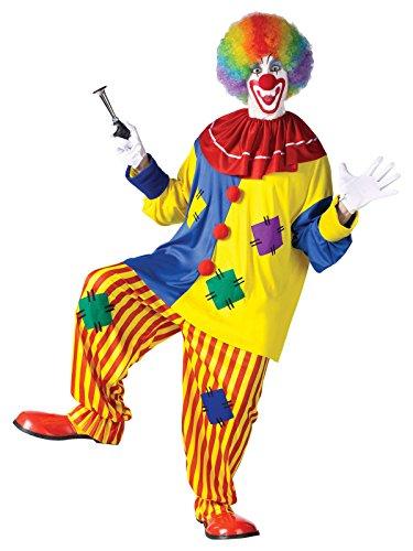 n-Kostüm Erwachsene M / L (Adult Big Top Clown Kostüme)