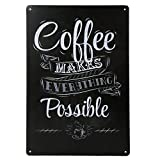 20x30cm Vintage Metal Tin Wall Sign Plaque Poster for Cafe Bar Pub Coffee #2