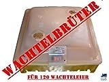 Campo24 Inkubator/Brutkasten / Brüter/Brutmaschine für Wachteln und anderes Geflügel