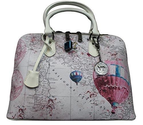 YNot? bugatti medium DISCOVER PINK Handtasche H-325 DIP