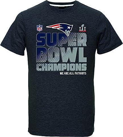 Majestic NFL NEW ENGLAND PATRIOTS Super Bowl LI 2017 Champs