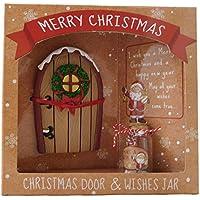 Natale Porte & Wishes Jar - Speciale regalo di Natale - Stocking Fillers - Secret Santa