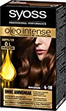 Syoss Oleo Intense Haarfarbe 4-18 Mokkabraun, 3er Pack (3 x 115 ml)