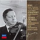 Berg.Stravinsky:Violin Conce