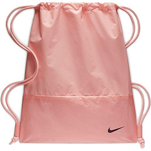 Nike Damen Turnbeutel Move Free, Storm Pink/Black, 42 x 35 cm, BA5759-646