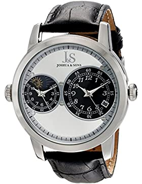 Joshua & Sons Herren-Armbanduhr Analog Quarz JS87SS
