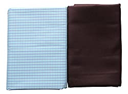 Arvind Mens Executive Shirt & Trouser Fabric Combo