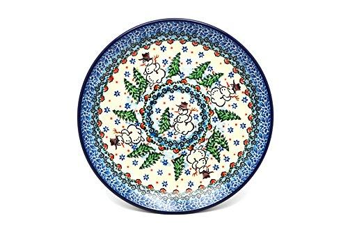 Polish Pottery Plate – Salad/Dessert (7 3/4″) – Unikat Signature U4661
