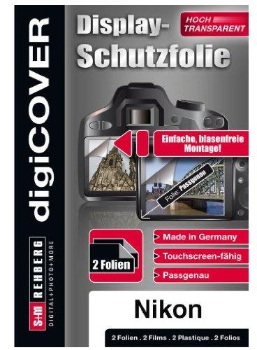 digiCOVER Monitordisplayschutzfolie für  Nikon Coolpix S9300