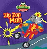 T326A Comics for Phonics Zip Zap Man Yellow A Set 12
