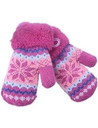 Gants d hiver Belles Petites Moufles tricotés pour Enfants Filles Garçons  2345ans e42e1a12b2b
