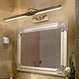 HAIZHEN erntezeit Spiegel Vorne Licht Badezimmer Spiegelschrank Beleuchtet Alle Kupfer Lampe LED-Spiegel Licht Wasserdicht/drehbare Leuchte (Größe: #43 cm)