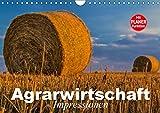 Agrarwirtschaft. Impressionen (Wandkalender 2019 DIN A4 quer): Agrar- und Landwirtschaft der Moderne (Geburtstagskalender, 14 Seiten ) (CALVENDO Natur)