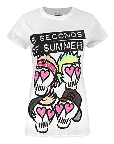 Donne - Official - 5 Seconds Of Summer - T-Shirt (M)