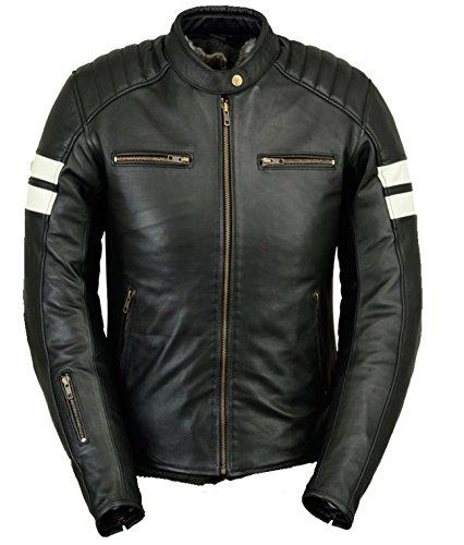 *Damen Lederjacke Motorradjacke Biker Jacket Ladys (36)*