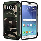 Epxee Coque Samsung Galaxy J7 2016, Silicone [Anti Choc] Protection Etui Housse pour Samsung Galaxy J7 2016 (Camo-001)