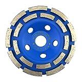 PRODIAMANT Diamant-Schleiftopf Standard 125 mm x 22,2 mm für Beton, Mauerwerk, Stein doppelreihig Diamantschleiftopf 125mm rasant & schnell