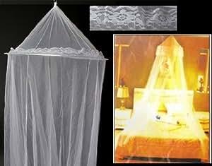 Telo anti zanzare zanzariera da soffitto per letto misure cm 60 230 850 sport e - Zanzariere da letto ...