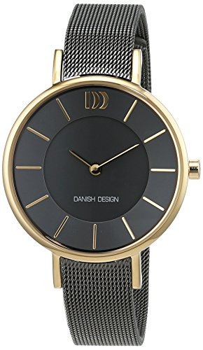 Danish Design Women's Quartz Watch Analogue Display and Stainless Steel Plated Strap 3320220