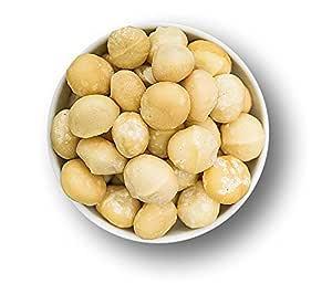 1001 Frucht Macadamia Ganze Nüsse ohne Schale 1000 g I Naturbelassene Nüsse Rohkost-Qualität - Macadamianüsse ungesalzen aus Australien ohne Zusätze I Frische Nüsse Macadamia Kerne unbehandelt