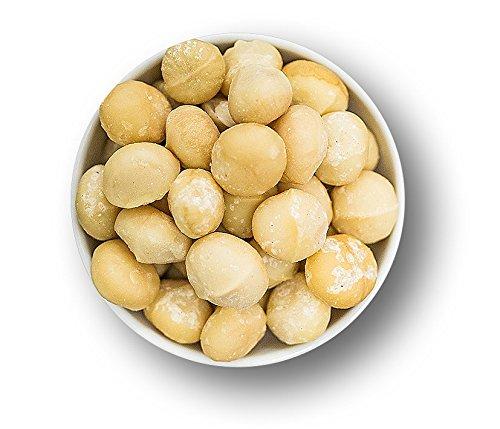 """NEUE ERNTE Ganze Macadamia 1kg Nüsse ohne Schale - Ungsalzen - Naturbelassen- ohne Zusatzstoffe - Rohkost-Qualität für Veganer geeignet, Glutenfrei """"QUALITÄT statt QUANTITÄT"""
