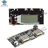 eHUB Dual USB 5V 1A 2.1A Power Bank Charging Module Circuit Board with Digital Display