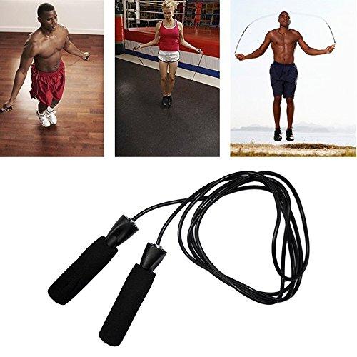 Cuerda de Saltar–ajustable–Cable de alta velocidad Teniend
