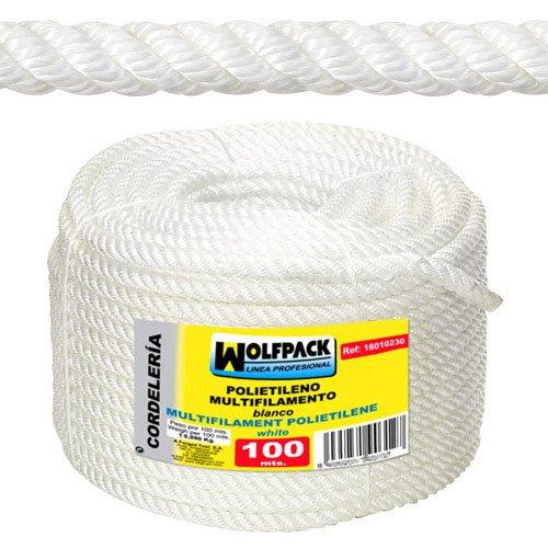 Wolfpack 16010215 Rollo cuerda multifilamento polipropileno