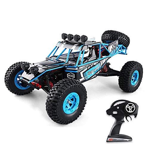 RCZYBZ Ferngesteuertes Auto für Kinder, 1:12 4WD großer Wüsten-LKW, RC Elektro-Geländewagen, Ferngesteuertes Buggy-Set - Geschenk für Kinder