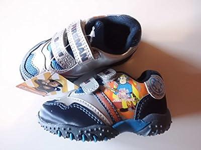 Feuerwehrmann Sam / Fireman Sam Sport Schuhe / Freizeitschuh Gr. 20 blau/silber