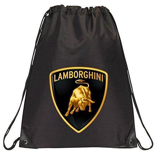 black-lamborghini-badge-drawstring-school-pe-gym-kit-bag