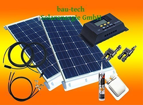 200 Solar-panel Watt Wohnmobil (200 Watt Wohnmobil Camping Solaranlage, 12 Volt SET, PV Solarpanel Modul)