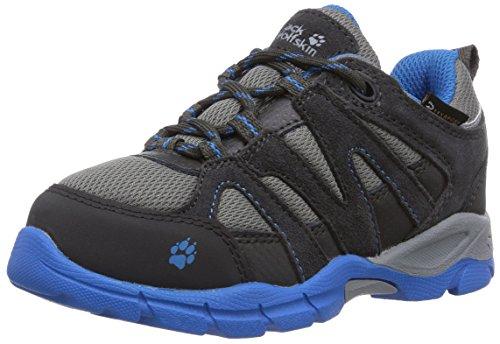 Jack Wolfskin Vulcão Baixo Texapore Jovens De Trekking E Caminhadas Sapatos Meia Cinza (azul Clássico 1127)