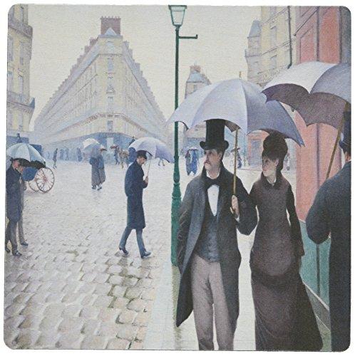 0,3x 0,6cm Maus Pad, Bild von caillebottes Berühmter Malerei Paris Street in Rainy Wetter (MP 119803_ 1) ()