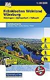 K&F Deutschland Outdoorkarte 56 Fränkisches Weinland, Würzburg 1 : 50 000: Kitzingen - Ochsenfurt - Volkach (Kümmerly+Frey Outdoorkarten Deutschland) - Kümmerly&Frey