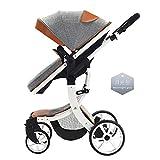 2 en 1 Poussette pour bébé Système de voyage pour bébé avec poussette Jogger...