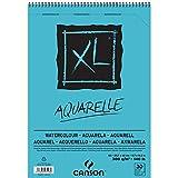 Canson di Schizzo E Studio Block XL Acquerelli, DIN A3, 30fogli, 300G/M², 297X 420mm, blocco con rilegatura a spirale