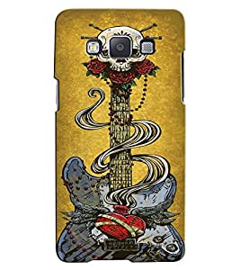Citydreamz Guitar/Music/Sound/Passion/Instruments Hard Polycarbonate Designer Back Case Cover For Samsung Galaxy Grand I9082